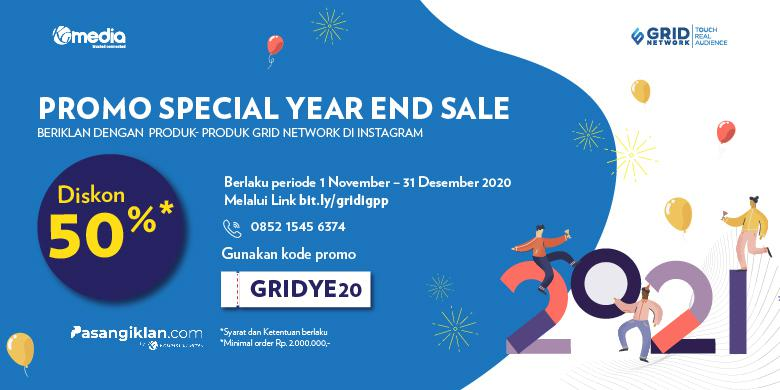 Promo Special Year End Sale