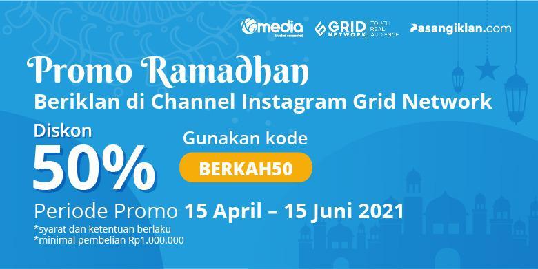 Promo Ramadhan Instagram Grid Network