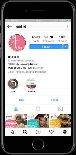 Pasang iklan instagram